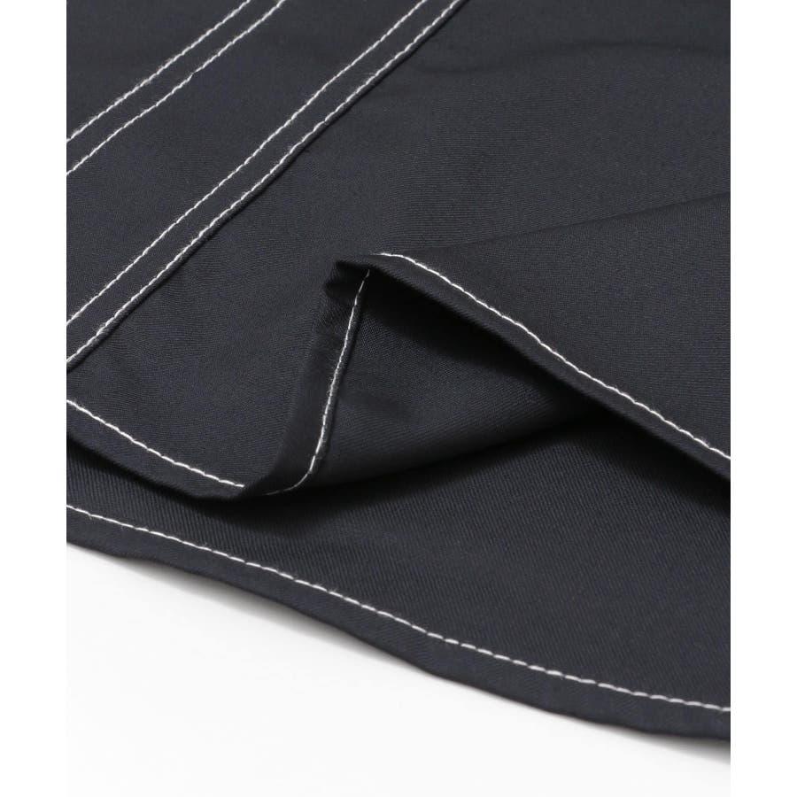 ステッチアウトCPOシャツ(5分袖) 5