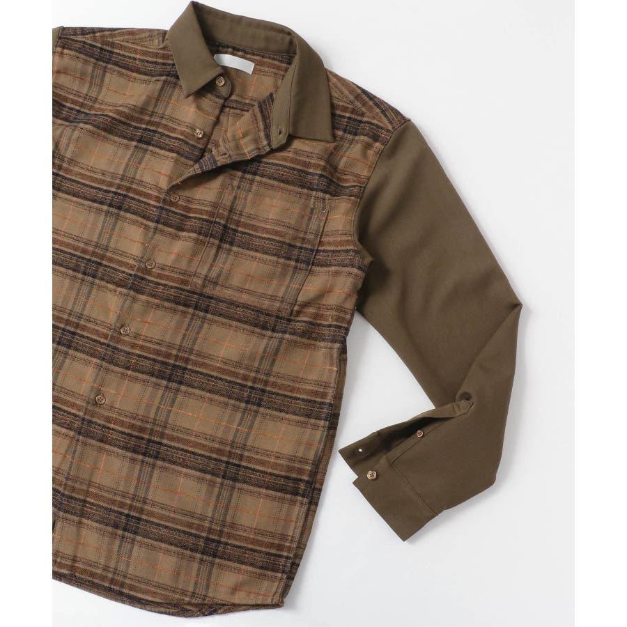 モールチェックブロックドシャツ 3