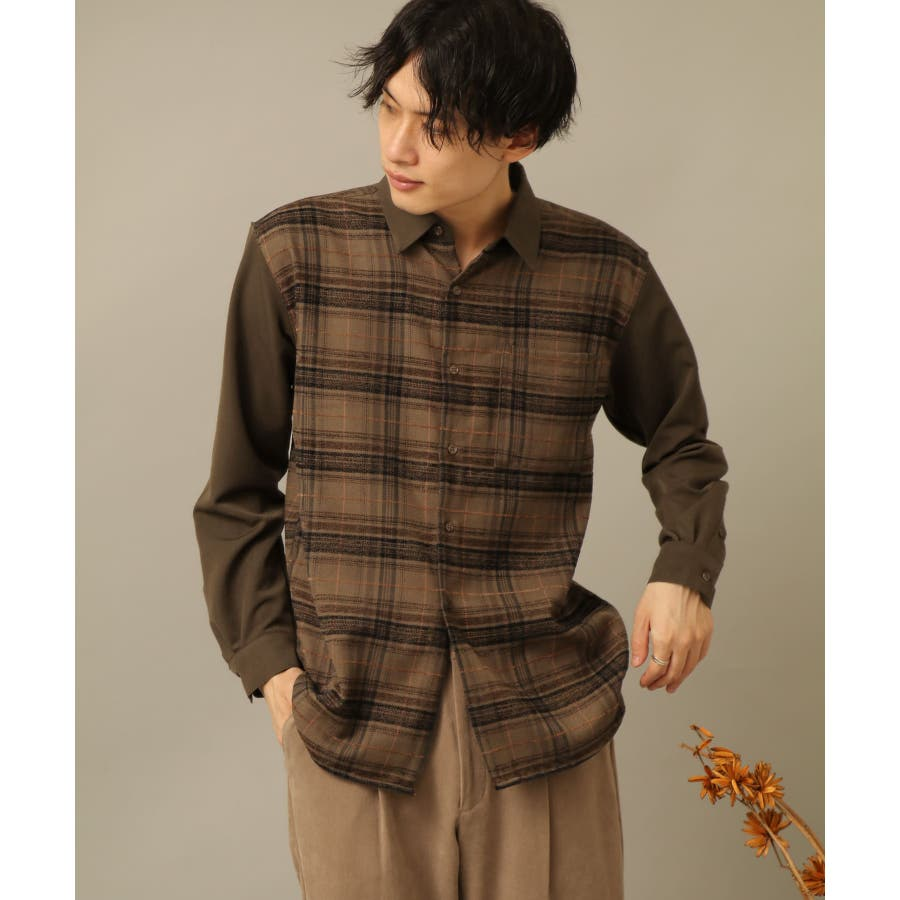 モールチェックブロックドシャツ 6