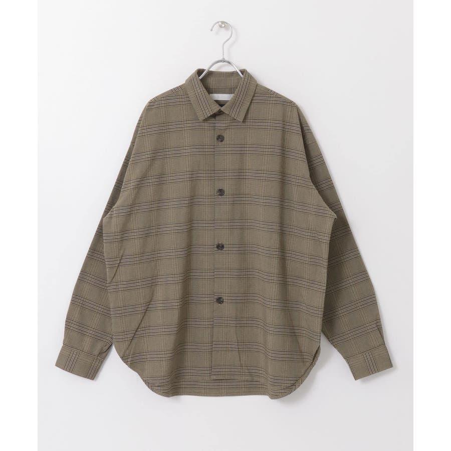 CARREMANグレンチェックシャツ 2
