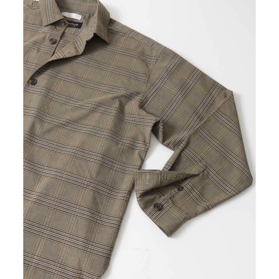 CARREMANグレンチェックシャツ 3