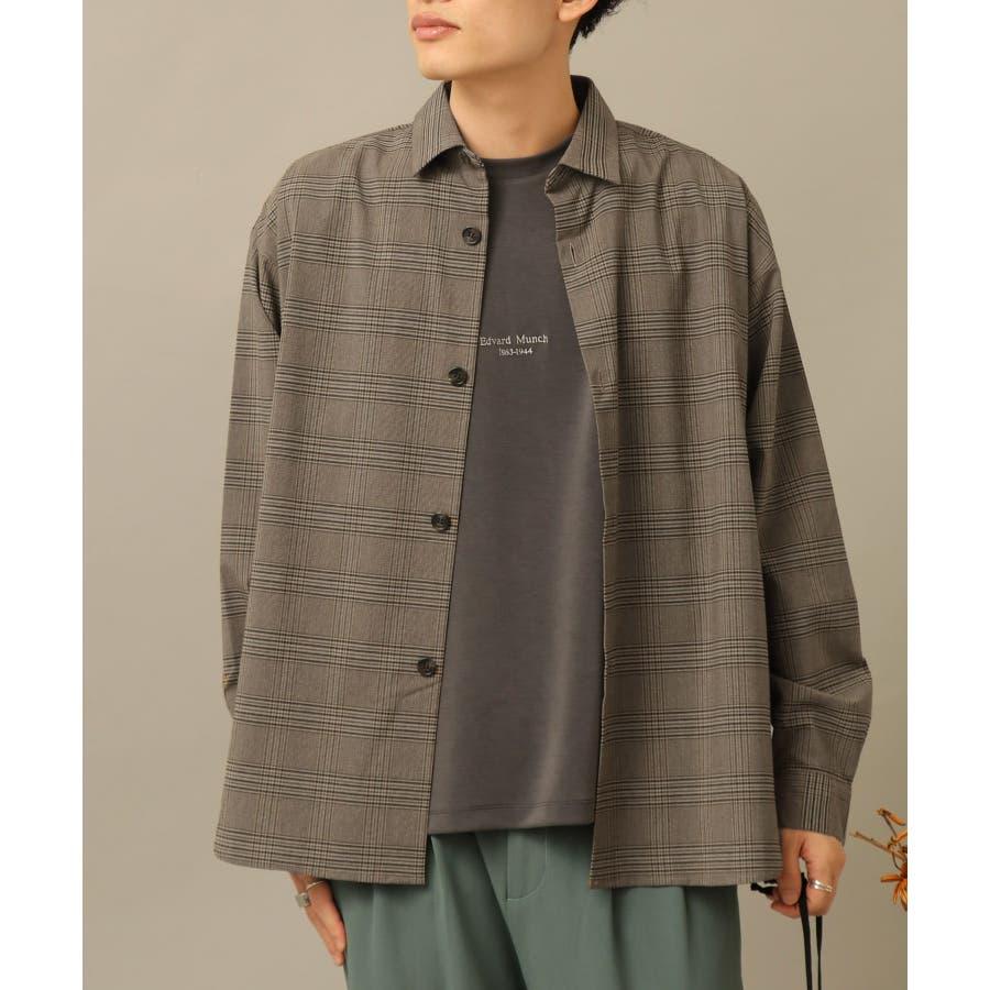 CARREMANグレンチェックシャツ 29