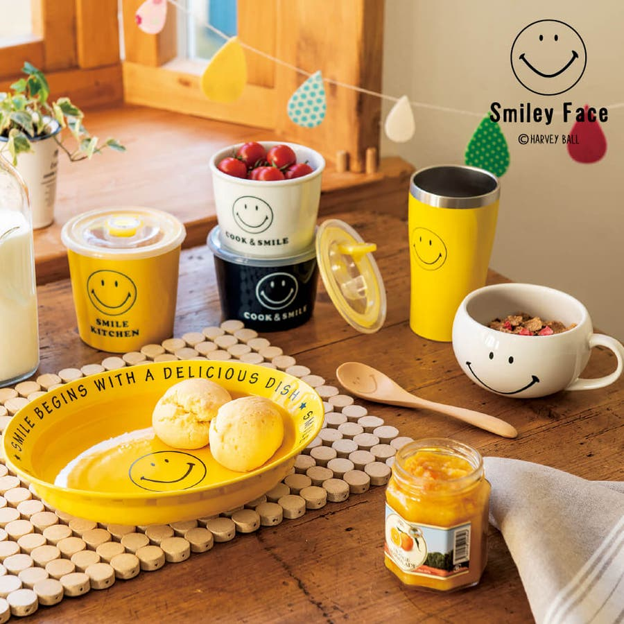 スマイリー 食器セット 保存容器 Smile レンジパックセット プレゼント ギフト 包装 2