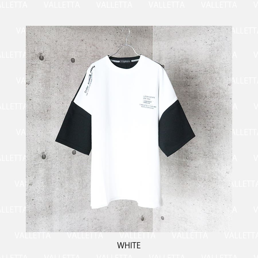 ビッグTシャツ メンズ ワイドシルエット Tシャツ ビッグ ビッグT BIG Tシャツ プリントTシャツ ドロップショルダードルマンスリーブ ドルマン ヘビーウェイト オーバーサイズ ゆったり 大きめ ホワイト 白 ブラック 黒 ベージュ パープル 紫 韓国ストリート [026-002] 4