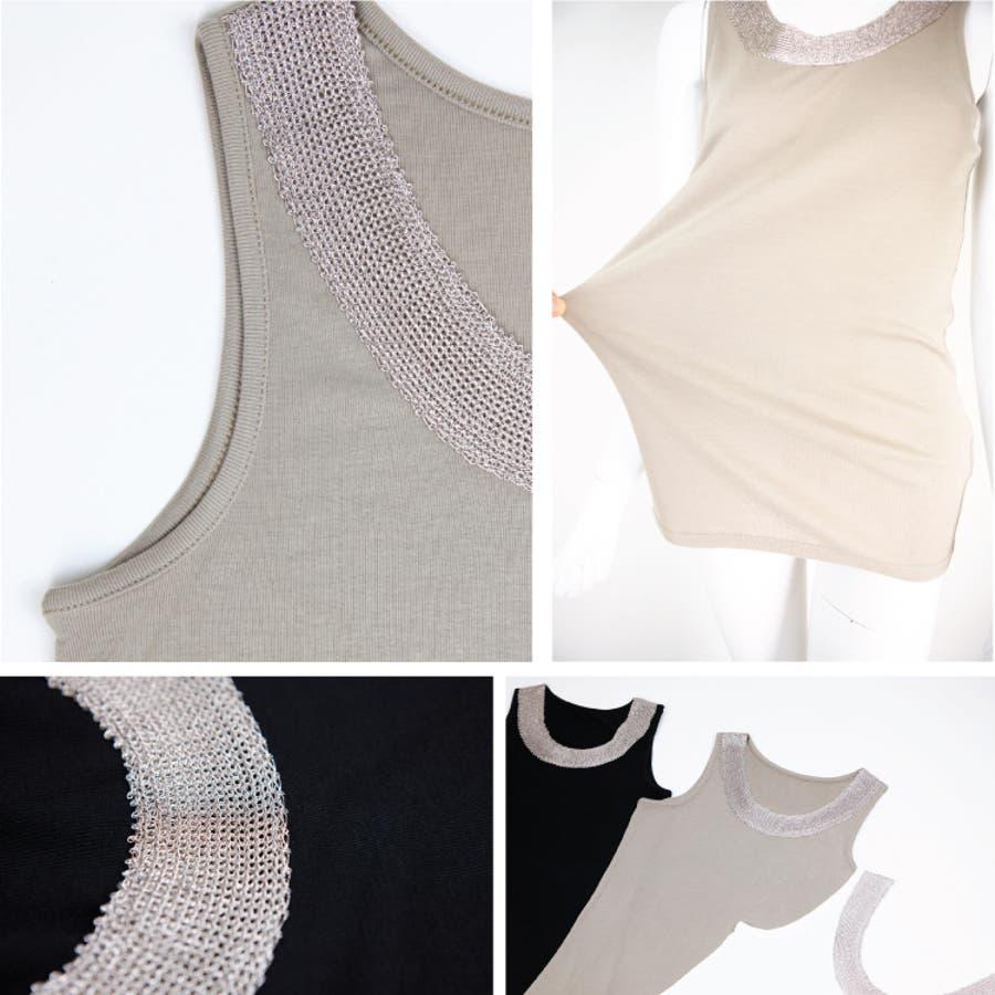 ラメネック タンクトップ ペチコート レディース ドレスインナー ドレス インナー 透け防止透けない キャミ キャミワンピキャミワンピース ロング キャミソール ワンピース ブライダル ベアトップ 体型カバー ルームウエア女性 7