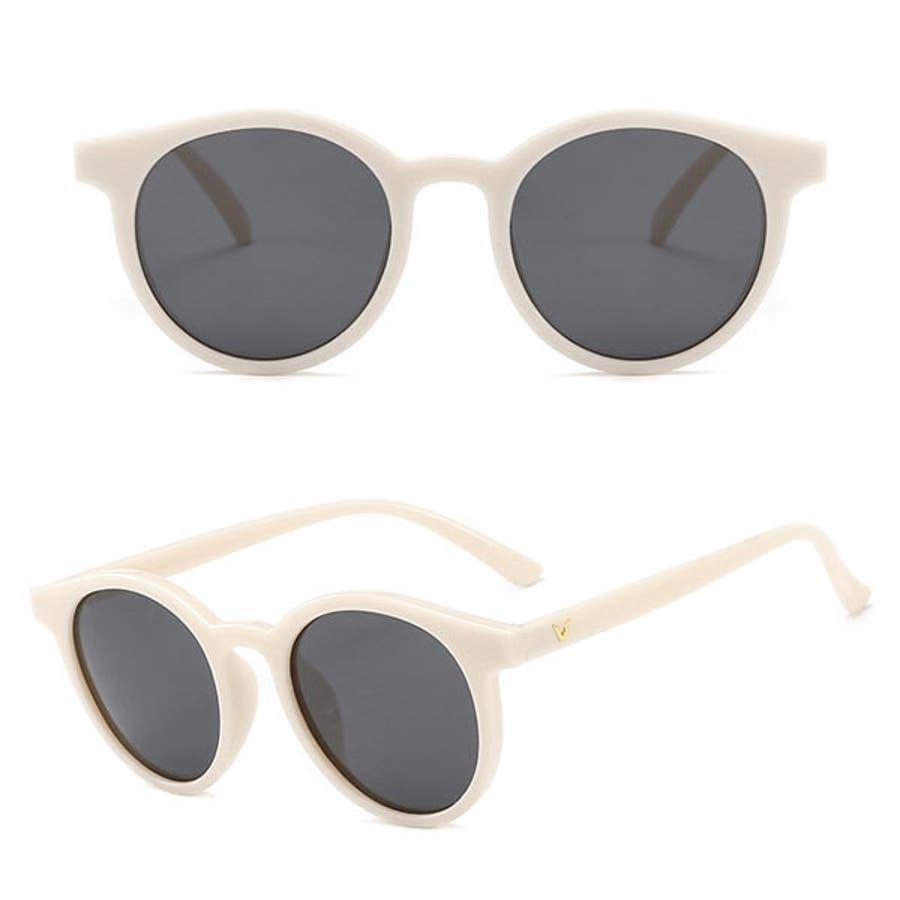 サングラス 小顔効果 人気 レディース メンズ ユニセックス ドライブ 紫外線 人気 トレンド 流行 春 夏 新作 黒 オフホワイトコーヒー 22R83414 17