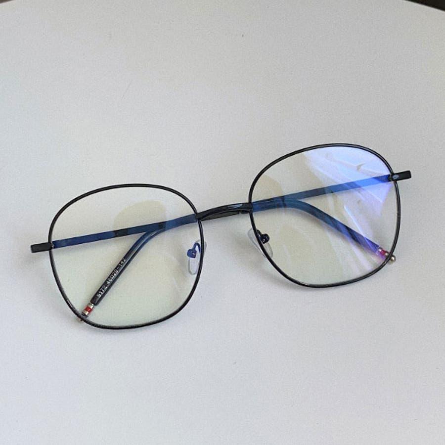 伊達メガネ 伊達めがね レディース ダテメガネ 眼鏡 丸めがね 伊達眼鏡 だてめがね メガネ 黒 金 ブラック ゴールド 丸メガネ丸眼鏡 ボストン ラウンド メタル メタルフレーム 男女兼用 ユニセックス 22R84122 8