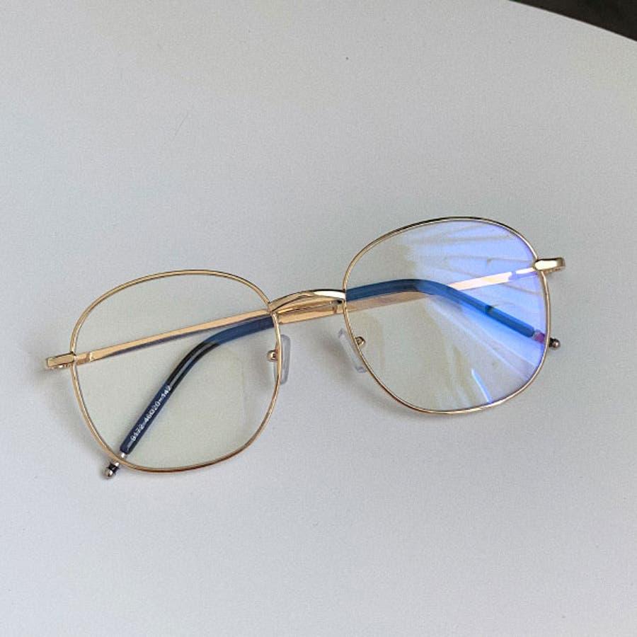 伊達メガネ 伊達めがね レディース ダテメガネ 眼鏡 丸めがね 伊達眼鏡 だてめがね メガネ 黒 金 ブラック ゴールド 丸メガネ丸眼鏡 ボストン ラウンド メタル メタルフレーム 男女兼用 ユニセックス 22R84122 10