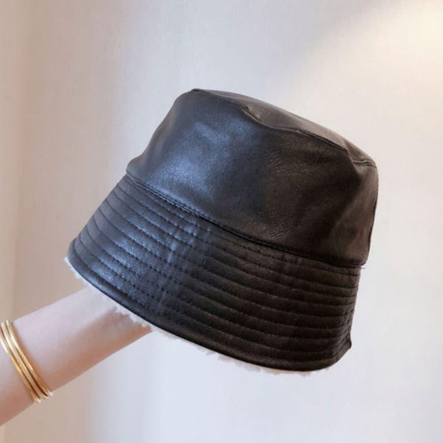 バケットハット 帽子 ハット ボア リバーシブル メンズ レディース サファリハット HAT 裏地 ボア フェス 野外イベント 21
