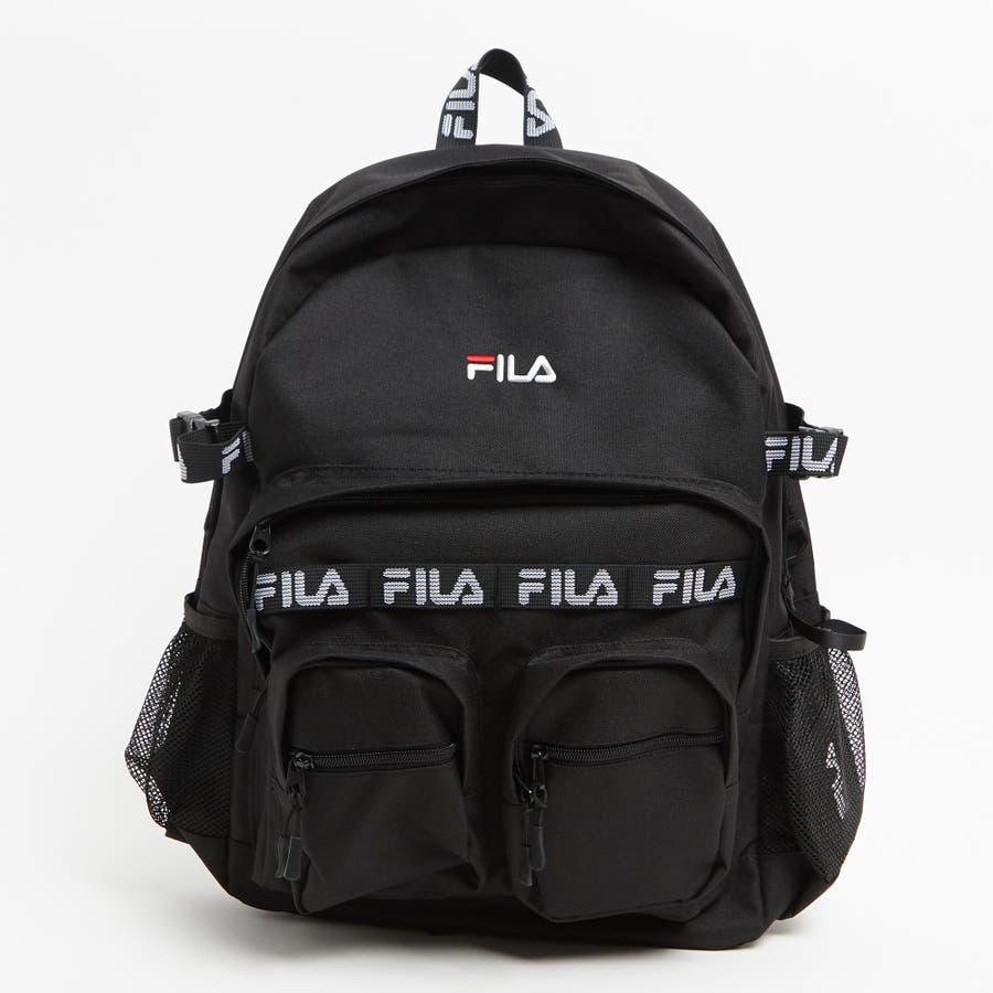 fd7979e82eb7 別注FILAロゴテープバックパック FM2159[品番:WG010035672] WEGO【MEN ...