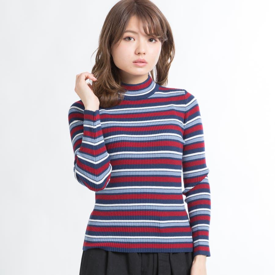 リブハイネックセーター 15