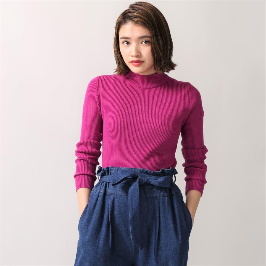 リブハイネックセーター 10