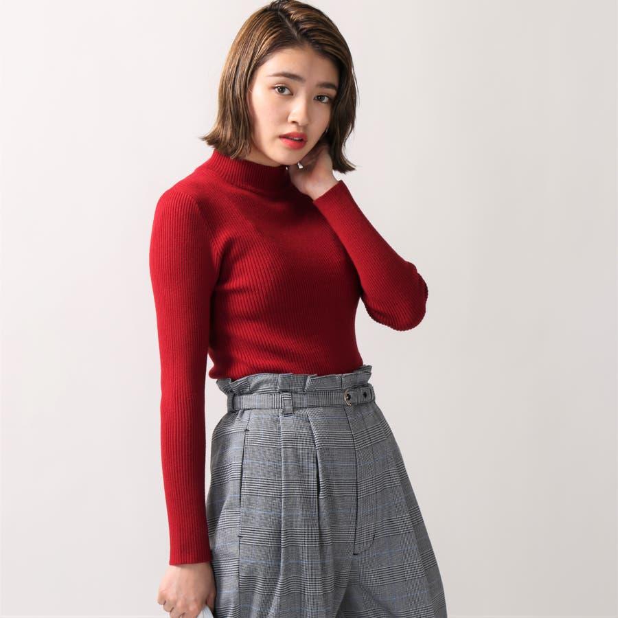 リブハイネックセーター 11