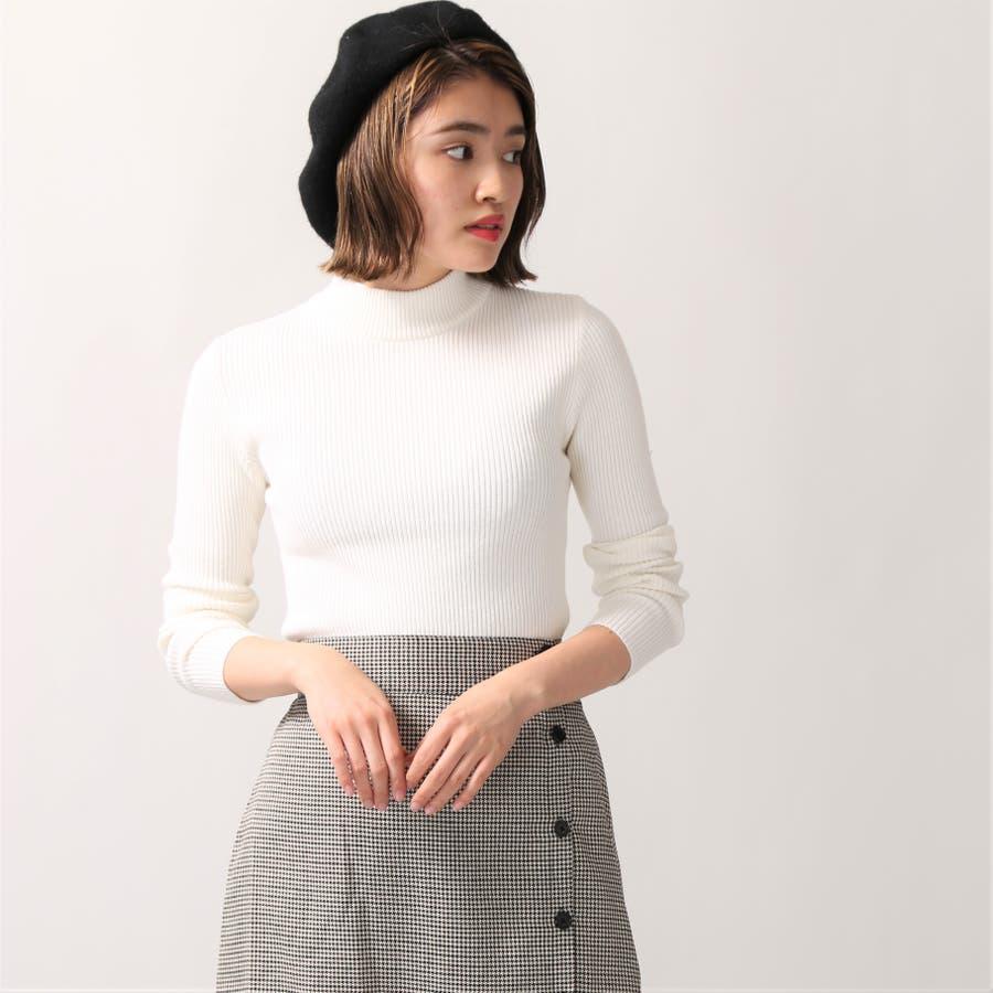 リブハイネックセーター 1