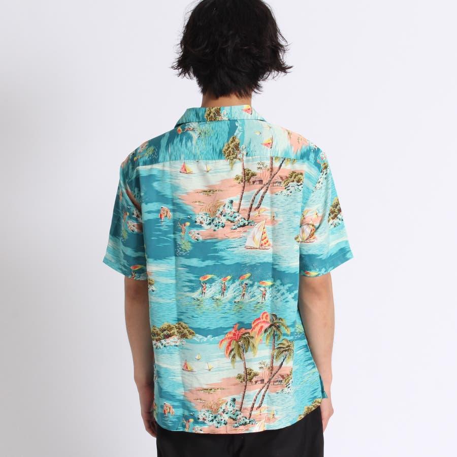 トロピカルオープンカラーシャツ 3