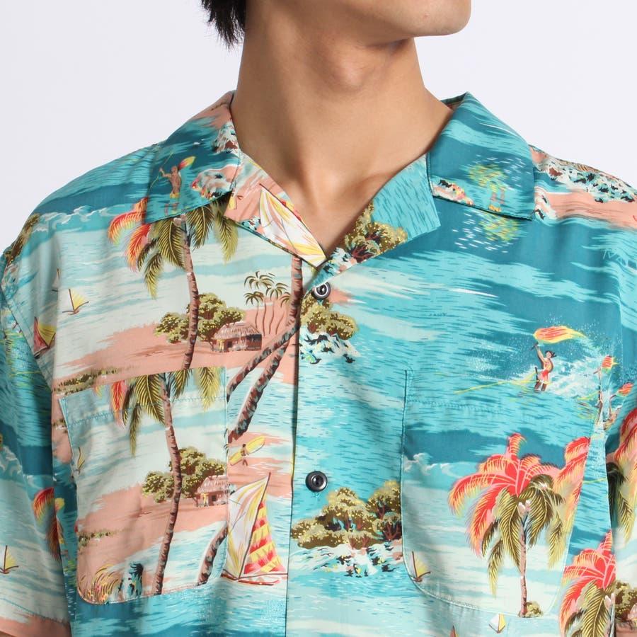 トロピカルオープンカラーシャツ 4