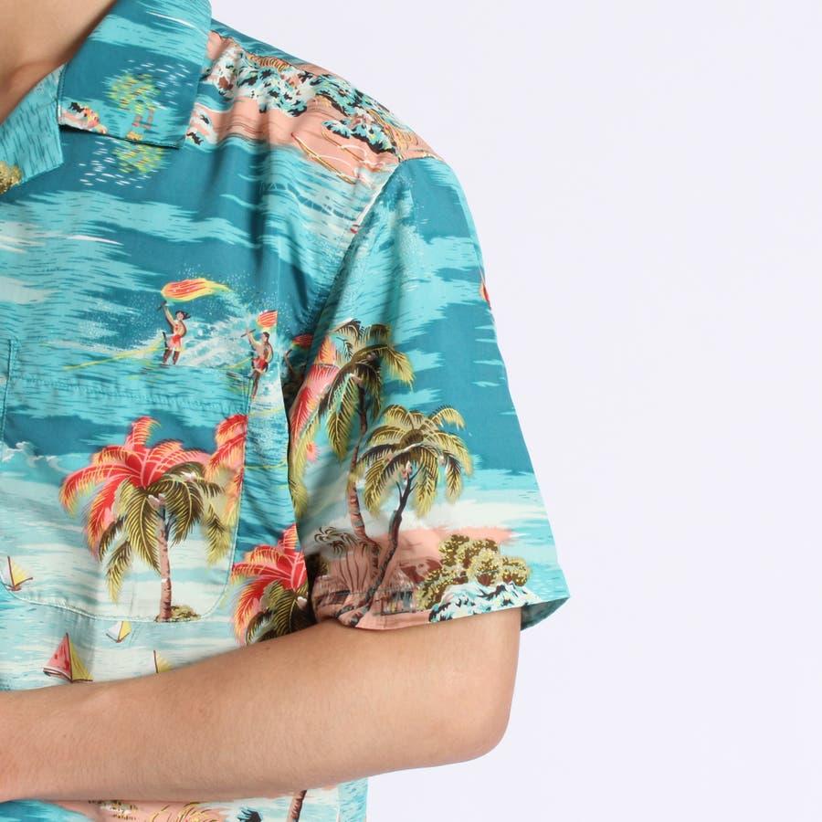 トロピカルオープンカラーシャツ 5
