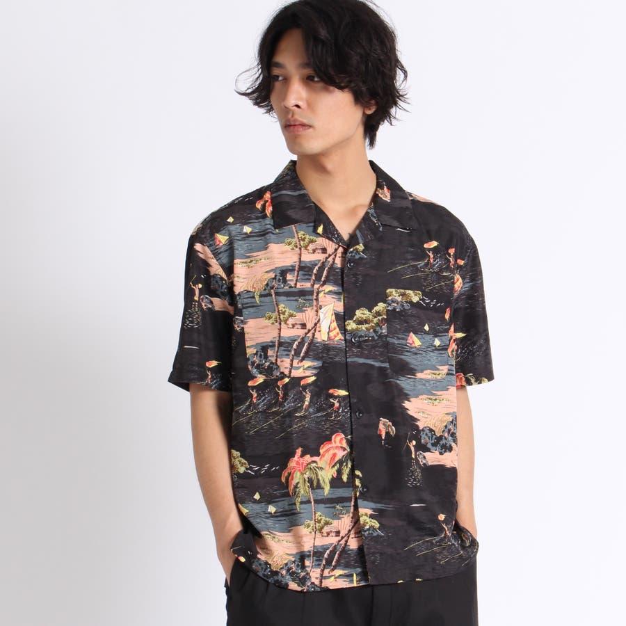 トロピカルオープンカラーシャツ 2