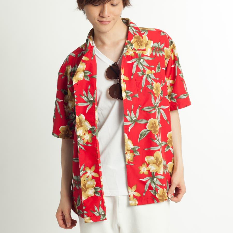 トロピカルオープンカラーシャツ 11