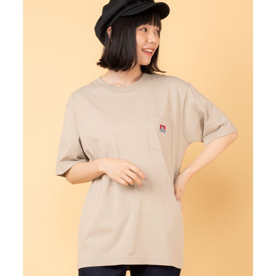 【WEB限定】BEN DAVIS別注ポケット半袖Tシャツ C-0580930 41