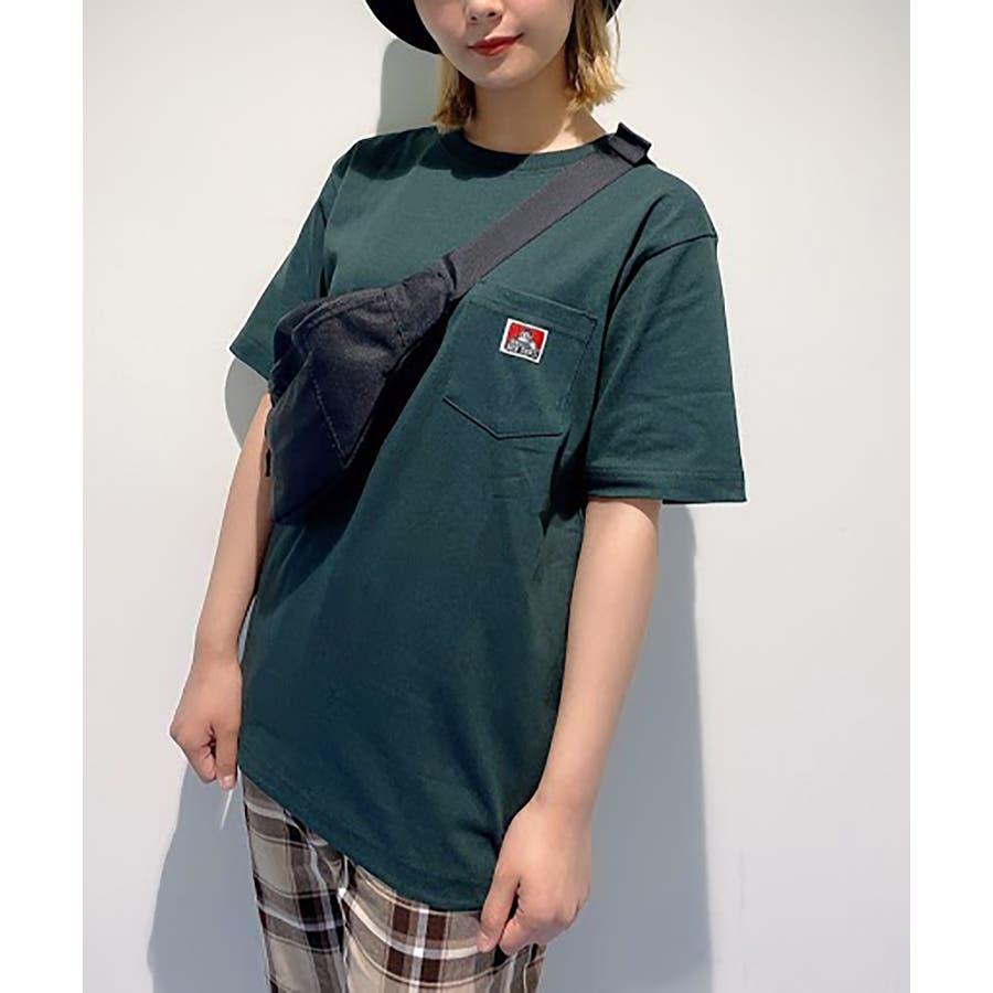 【WEB限定】BEN DAVIS別注ポケット半袖Tシャツ C-0580930 49