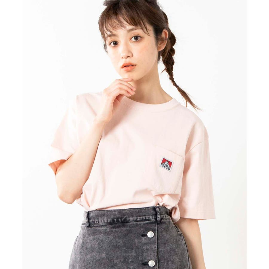 【WEB限定】BEN DAVIS別注ポケット半袖Tシャツ C-0580930 88