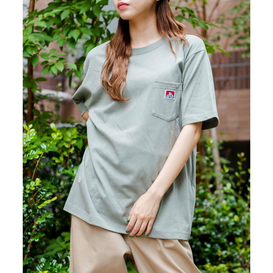【WEB限定】BEN DAVIS別注ポケット半袖Tシャツ C-0580930 58