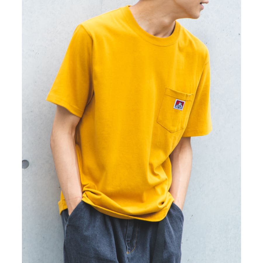 【WEB限定】BEN DAVIS別注ポケット半袖Tシャツ C-0580930 85