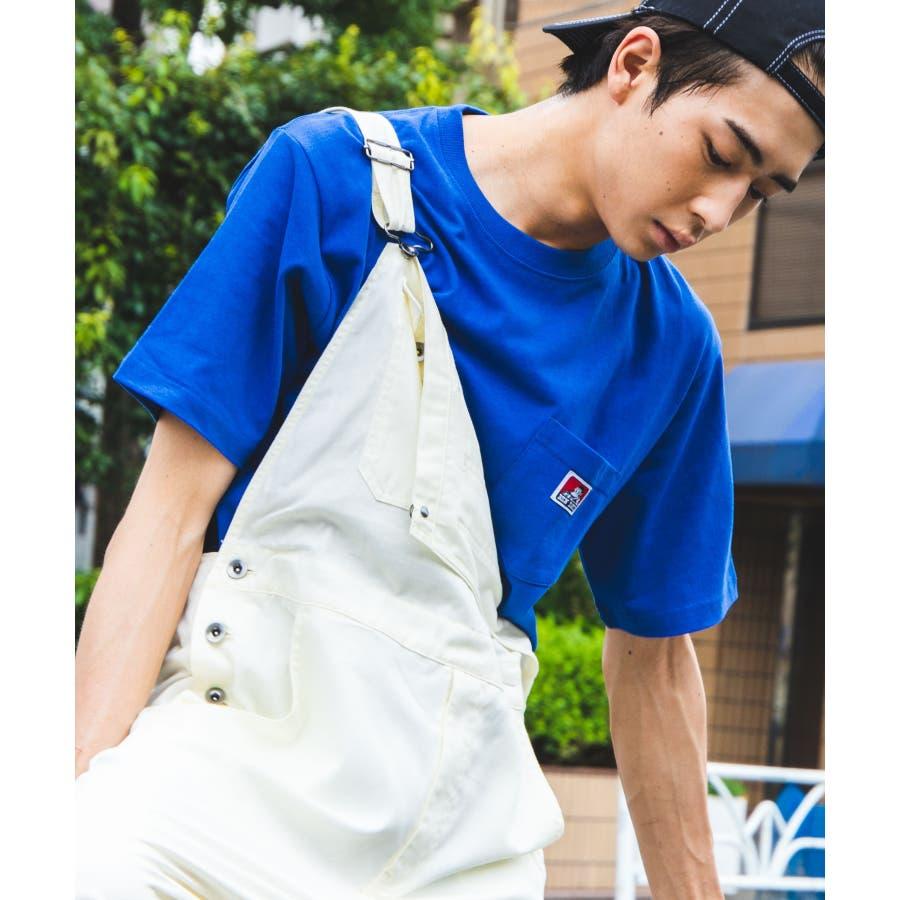 【WEB限定】BEN DAVIS別注ポケット半袖Tシャツ C-0580930 59