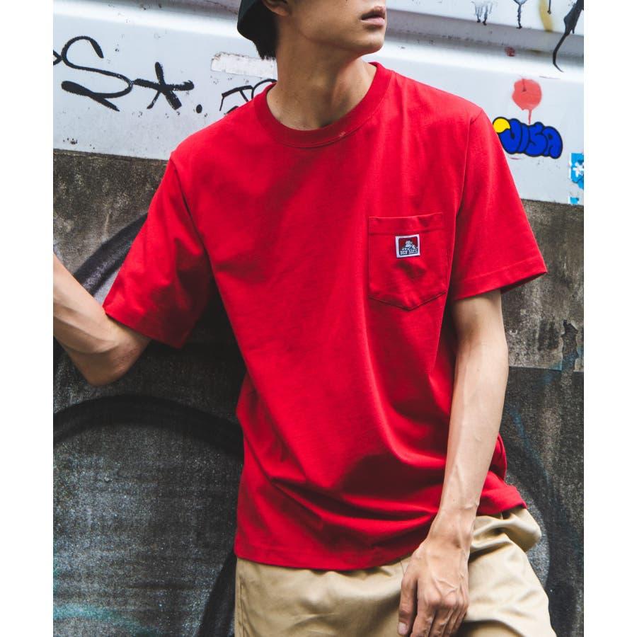 【WEB限定】BEN DAVIS別注ポケット半袖Tシャツ C-0580930 94