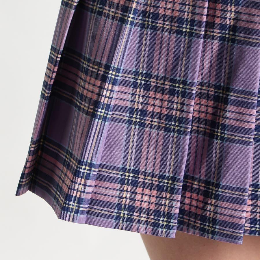 レディースファッション通販WEGO/チェックプリーツミニスカート