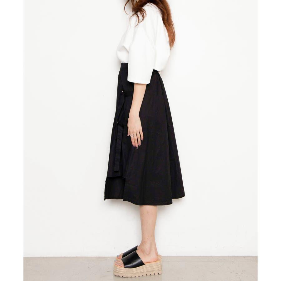 ベルト付キ裾アシメロングスカート MO20SM07-L5008 6
