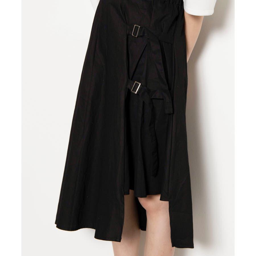 ベルト付キ裾アシメロングスカート MO20SM07-L5008 8