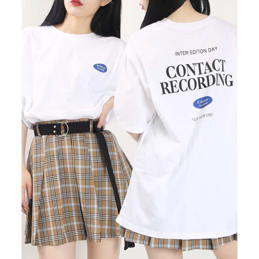 バックプリントTシャツ WCK20SS-107 16