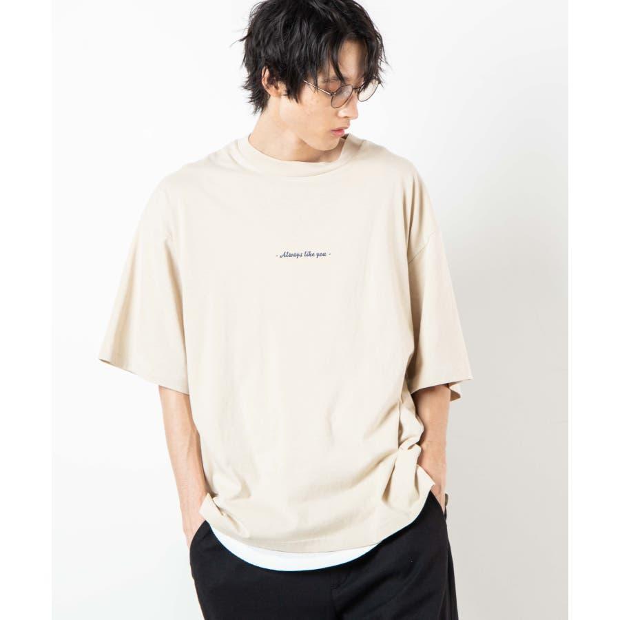 レトロロゴBIGTシャツ WE20AU07-M5002 5