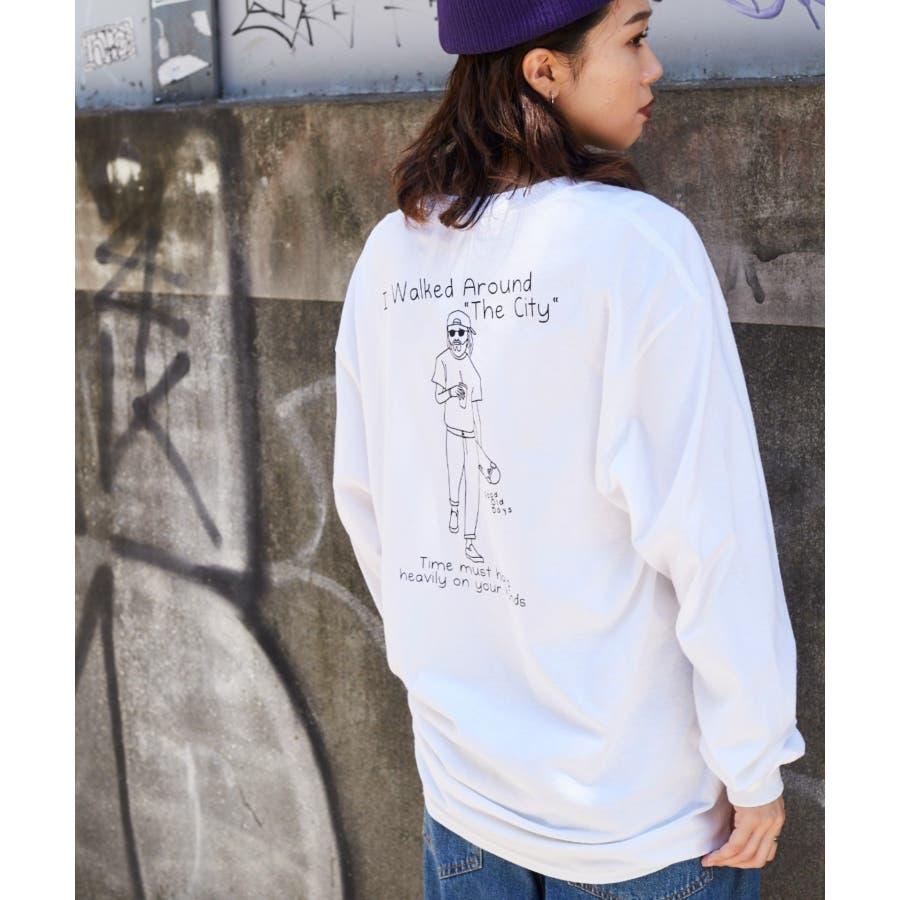 【WEB限定】バックプリントロンT WE20AU08-M5027 16
