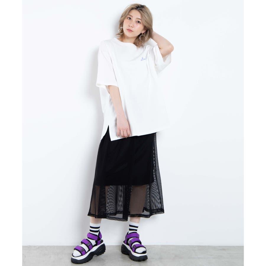 メッシュロングスカート WE20SM04-L2364 5