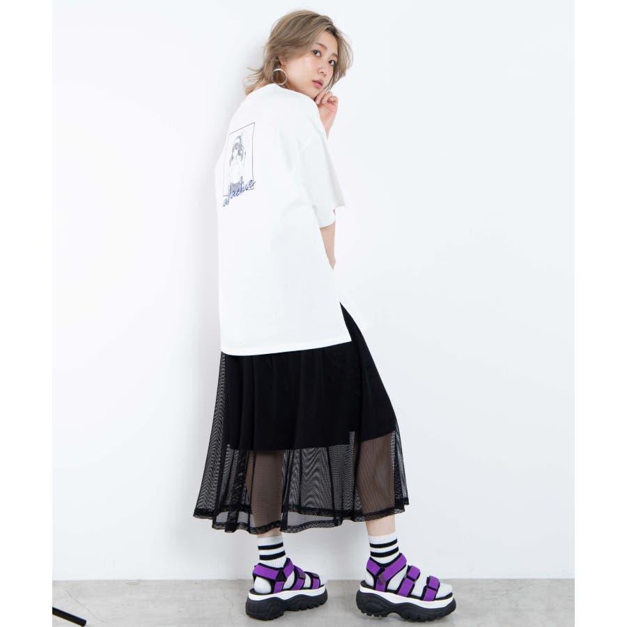 メッシュロングスカート WE20SM04-L2364 7