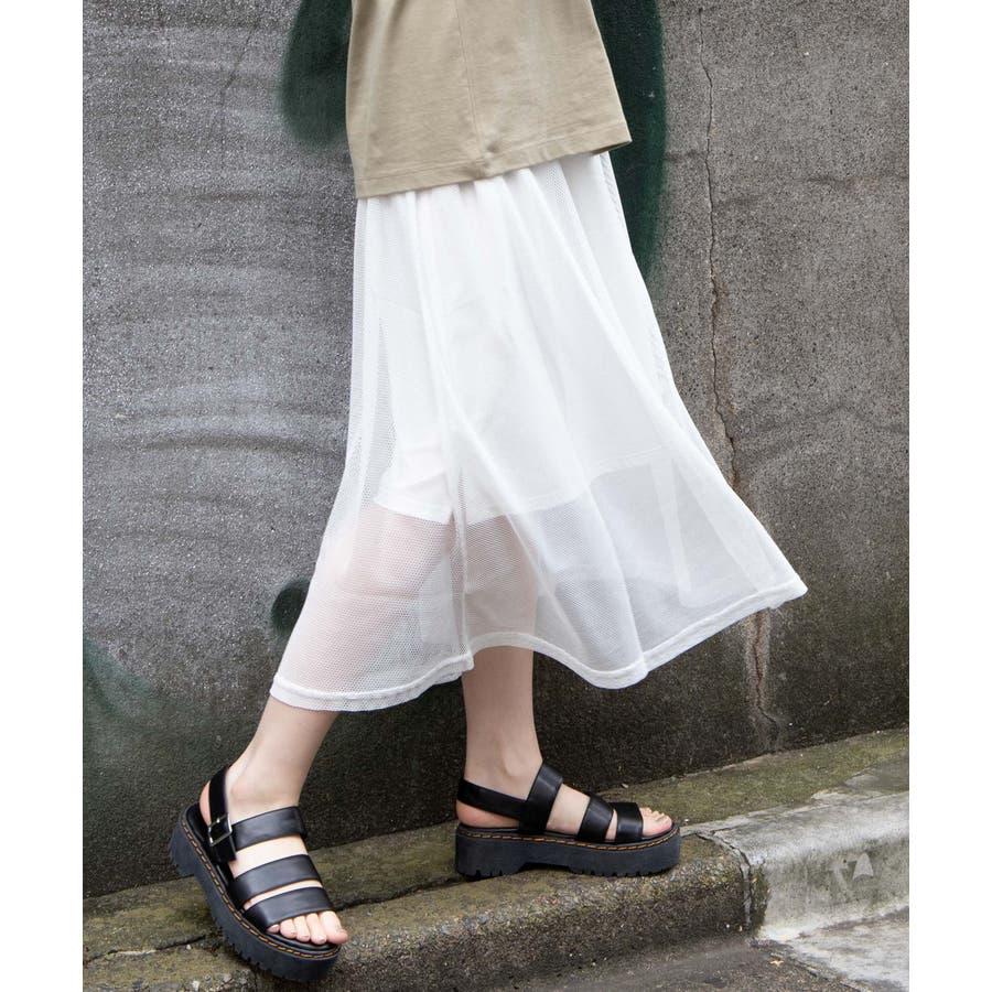 メッシュロングスカート WE20SM04-L2364 16