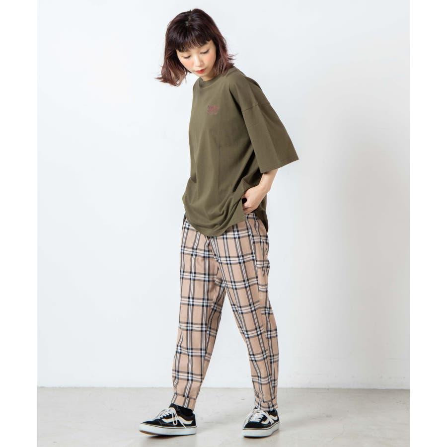 サークルベアバックプリントTシャツ WE20SM08-L5001 2