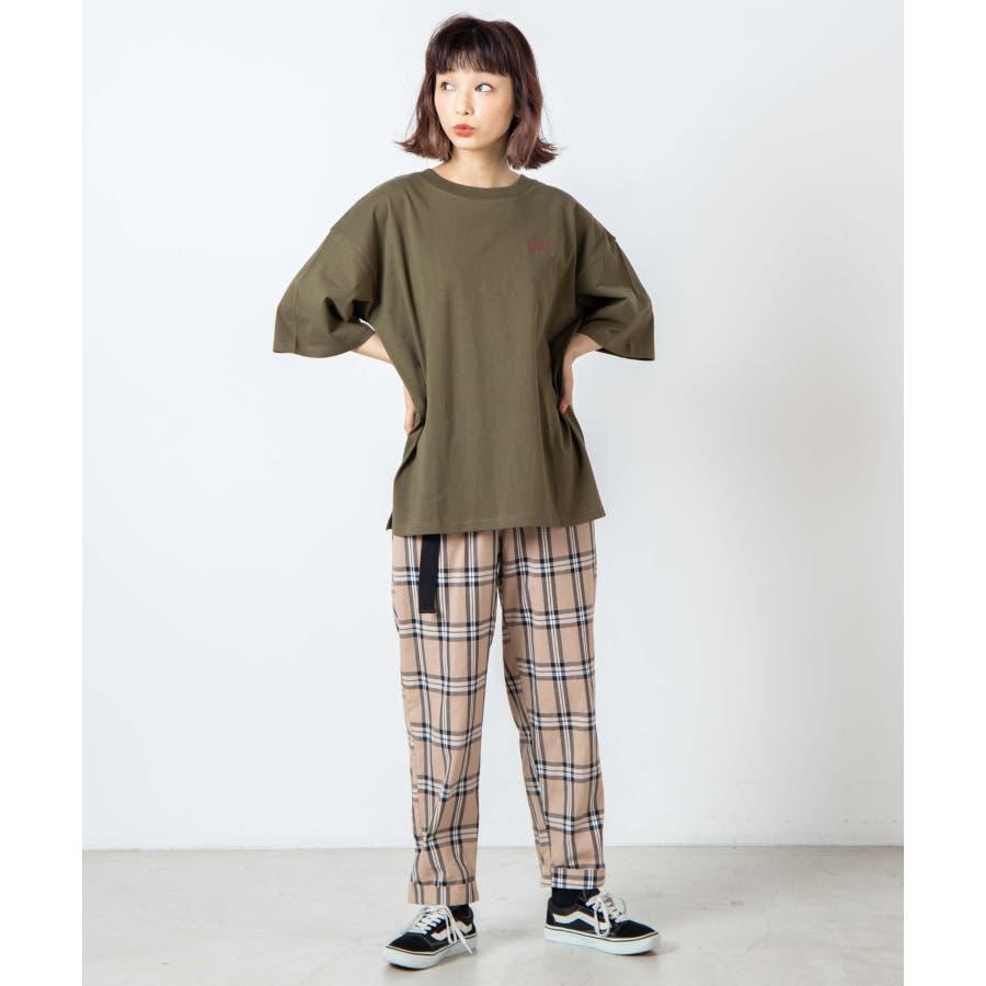 サークルベアバックプリントTシャツ WE20SM08-L5001 3