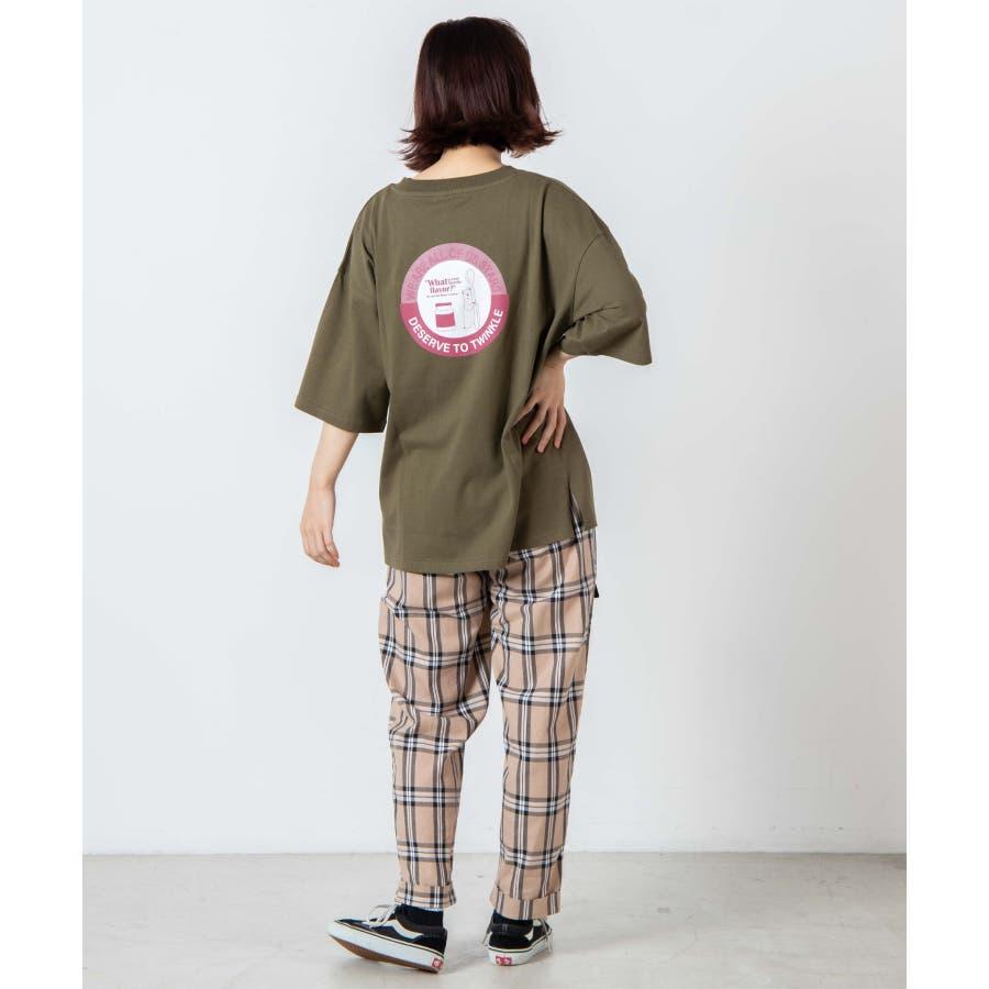 サークルベアバックプリントTシャツ WE20SM08-L5001 4