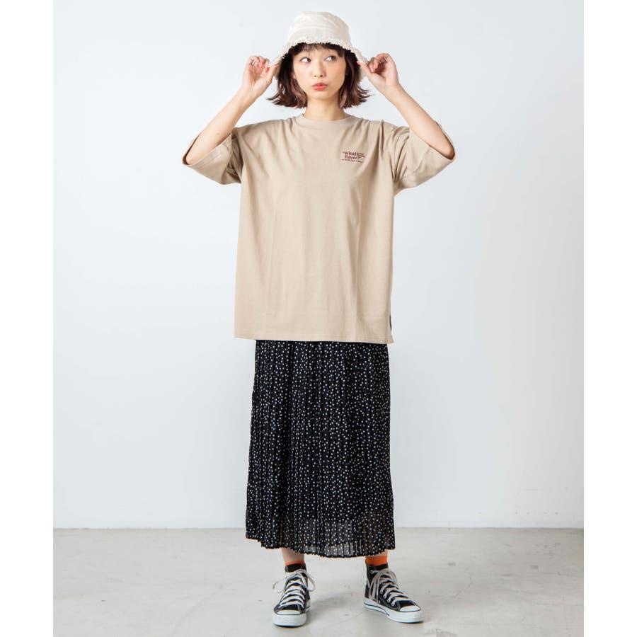サークルベアバックプリントTシャツ WE20SM08-L5001 5