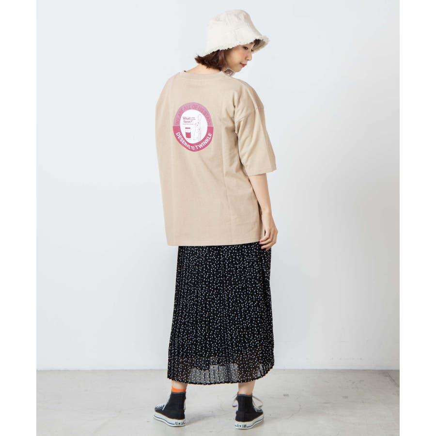 サークルベアバックプリントTシャツ WE20SM08-L5001 6