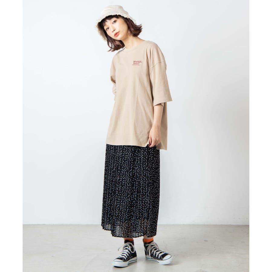 サークルベアバックプリントTシャツ WE20SM08-L5001 7