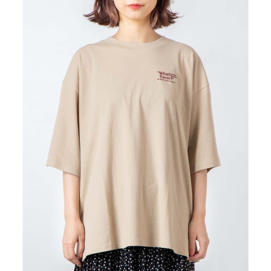 サークルベアバックプリントTシャツ WE20SM08-L5001 8