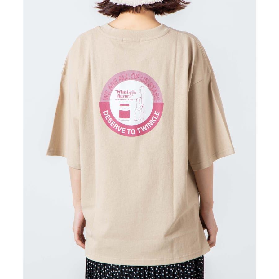 サークルベアバックプリントTシャツ WE20SM08-L5001 9