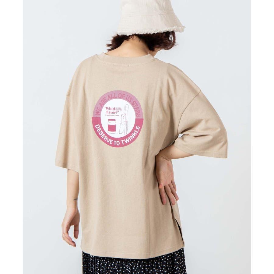 サークルベアバックプリントTシャツ WE20SM08-L5001 41