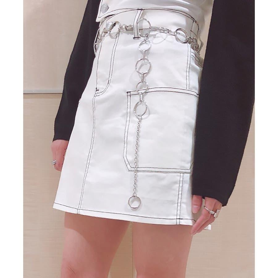 ステッチサイドポケットミニスカート WE20SP12-L8185 16