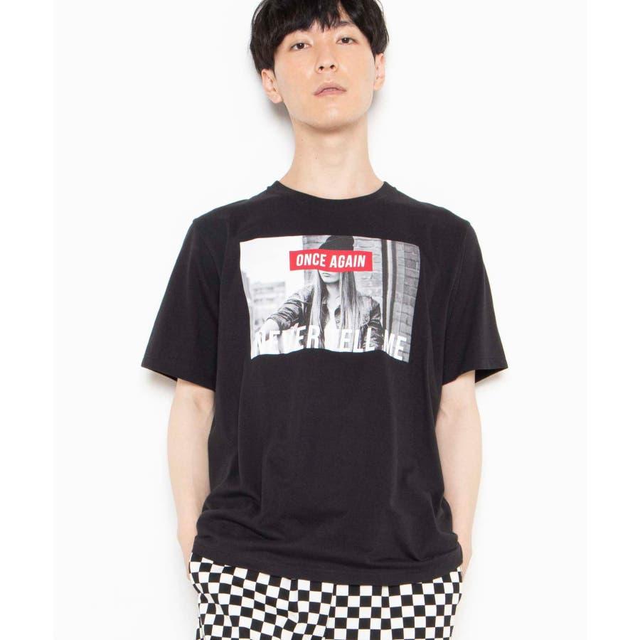 モノトーンガールフォトボックスTシャツ2 WE20SS06-M5003 21